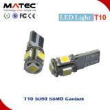 自動内部車ライトT10 5 SMD 5050 LEDチップCanbus
