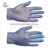 Banheira vendia isqueiros de PVC de cor azul transparente Grau Alimentício Luvas de vinil