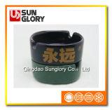 Farbe glasig-glänzender keramischer Aschenbecher Yg001