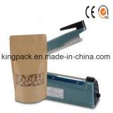 Máquina semiautomática del lacre de impulso de la mano del sellador del calor de la bolsa de plástico/máquina del lacre de la bolsa de plástico