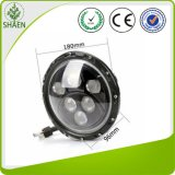 Luz de conducción redonda del CREE LED de 7 pulgadas para 60W campo a través