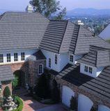 Feuilles enduites en pierre de toiture en métal avec les prix 1220X2440