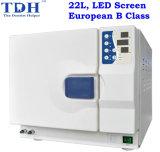 22L europäisches B Class LED Dental Autoclave (CAL-22L-B-LED)