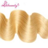 27# Viginの人間の毛髪Weftボディ波の毛の拡張