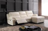 余暇のイタリアの革ソファーの家具(738)