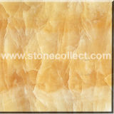 Natural Marble Tiles (Yellow Onyx) for Flooring