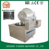 Mariscos semiautomáticos del pollo de las virutas y alimento de la sartén de la carne de vaca que fríe la máquina