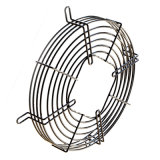 Soldada de acero de precisión del acondicionador de aire del ventilador de rejilla con revestimiento de PVC