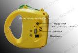Фонарик оборудования СИД солнечный непредвиденный сь с передвижной обязанностью