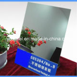 Plaque de miroir en acier inoxydable (304, 316L)