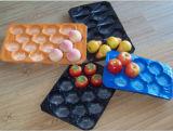 Bandeja descartável da fruta e verdura