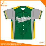 Fornitore su ordinazione di usura di sport di sublimazione della Jersey di baseball