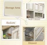 Самомоднейшая конструкция мебели кухни твердой древесины (zq-012)