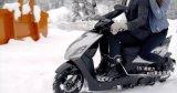 Aima 1200W Motocicleta elétrica de neve poderosa com motor Bosch