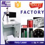 Heiße Verkaufs-Faser-Laserdrucker-Maschine für Messingmarkierung
