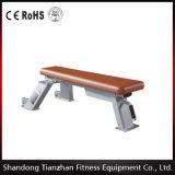 Banc de service plat commercial de la machine Tz-5017 de gymnastique de construction de corps