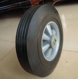 """10""""X2.5"""" da roda de borracha maciça com aro plástico"""