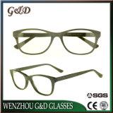 De nouvelles lunettes d'acétate de gros châssis optique lunettes Spectacle