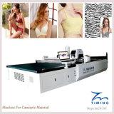 Tissu coupant la machine de découpage automatique de tissu de machine de T-shirt droit automatique de couteau