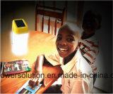 Iluminação Lanterna Solar portátil de 8 horas
