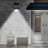 4/6/8/16/20 di indicatore luminoso solare della parete del giardino del LED con il sensore di movimento