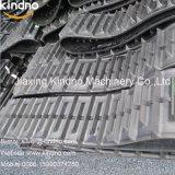 Комбайн сельского хозяйства резиновые резиновые гусеницы на гусеничном ходу 350X90X48 (с зубьями)