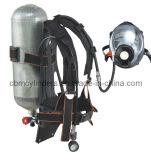 o instrumento de respiração de 9L Scba ajustou-se com o cilindro da fibra do carbono