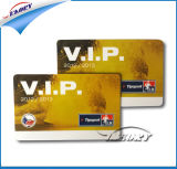 Carte estampée sèche d'identification d'IDENTIFICATION RF de PVC d'adhésion de VIP