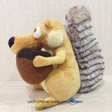 Het Stuk speelgoed van de Pluche van de eekhoorn met Pineal
