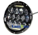 """7 """" Jeep Wranglerのための円形75W LED Headlight"""