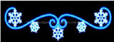 Indicatore luminoso decorativo di /LED del LED 2D dei fiocchi di neve di motivo di natale Light/LED di via dell'indicatore luminoso di /LED dell'indicatore luminoso impermeabile di motivo