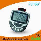 Cronômetro de Digitas da tela do LCD do pulso grande com termômetro (JS-710)