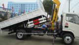 クレーン4tクレーントラック5tの価格と取付けられる6つの車輪のトラック