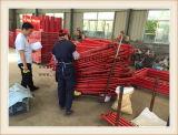 Poste de los carriles de protector para los andamios del marco