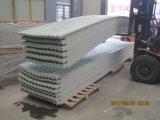 La feuille claire de toit de FRP, fibre de verre a ridé des panneaux de toiture