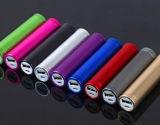 Colorida 2600mAh carregador de telemóvel / Mini-carregador para Samsang / iPhone4/4s/5