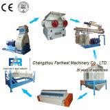 Tonelada automática 5-8 por cadena de producción de la pelotilla del pienso de la hora
