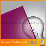 투명한 반투명 색깔은 아크릴 Board/PMMA 방풍 유리 아크릴 장을 던졌다