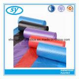 Sac de détritus en plastique remplaçable fait sur commande de HDPE