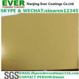 静電気のスプレーの金属きらめきの金の粉のコーティング