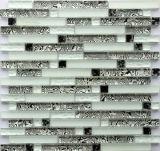 Tuile de mur de mosaïque de verre cristal