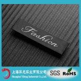 Nom de marque à chaud 100% polyester Tissu tissé des étiquettes pour les vêtements