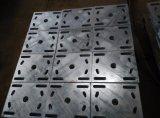 Structure métallique galvanisée de plongement chaud