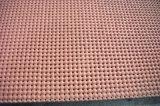 Close Cell Silicone Sponge Rubber Sheet, Silicone Foam Folha de borracha com impressão Surface de tecido