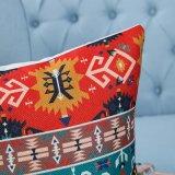 Het digitale Decoratieve Kussen/het Hoofdkussen van Af:drukken met Geometrisch Patroon Ikat (mx-05)