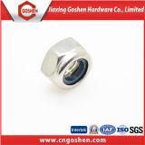 Écrou de blocage en nylon noir ANSI / DIN982 / DIN985