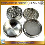 4 Stück-kundenspezifischer Aluminiumkraut-Schleifer manueller CNC-maschinell bearbeitenkraut-Schleifer