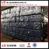 De los tubos ms con poco carbono laminado en caliente de acero negro muy popular Welded al exterior