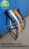 Cadre de bicyclette en aluminium, réservoir de gaz 2.4L construit pour les ventes de châssis