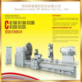 고속 가벼운 수평한 보편적인 선반 기계 Cw61200